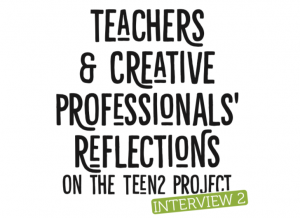 Teachers and Creative Professionals