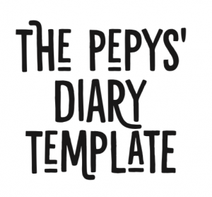 The Pepy's Diary Template