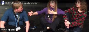 Hack the Theatre: Bøh en komedie om angst
