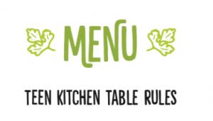 Kithchen Table Manifesto